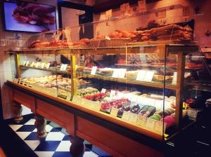 bakery and pastry at Paul Takashimaya